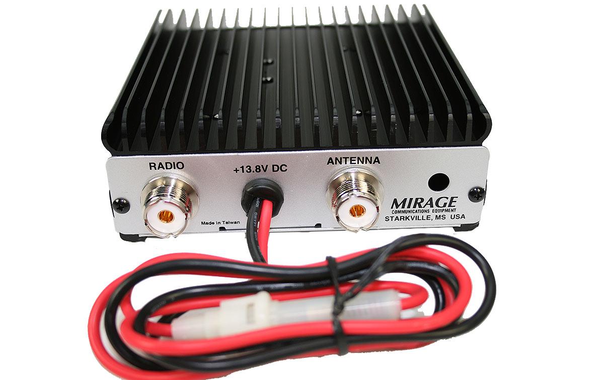 MIRAGE BD-35 Amplificador bibanda VHF/UHF HT entrada 4 Watios salida 45/35 Watios