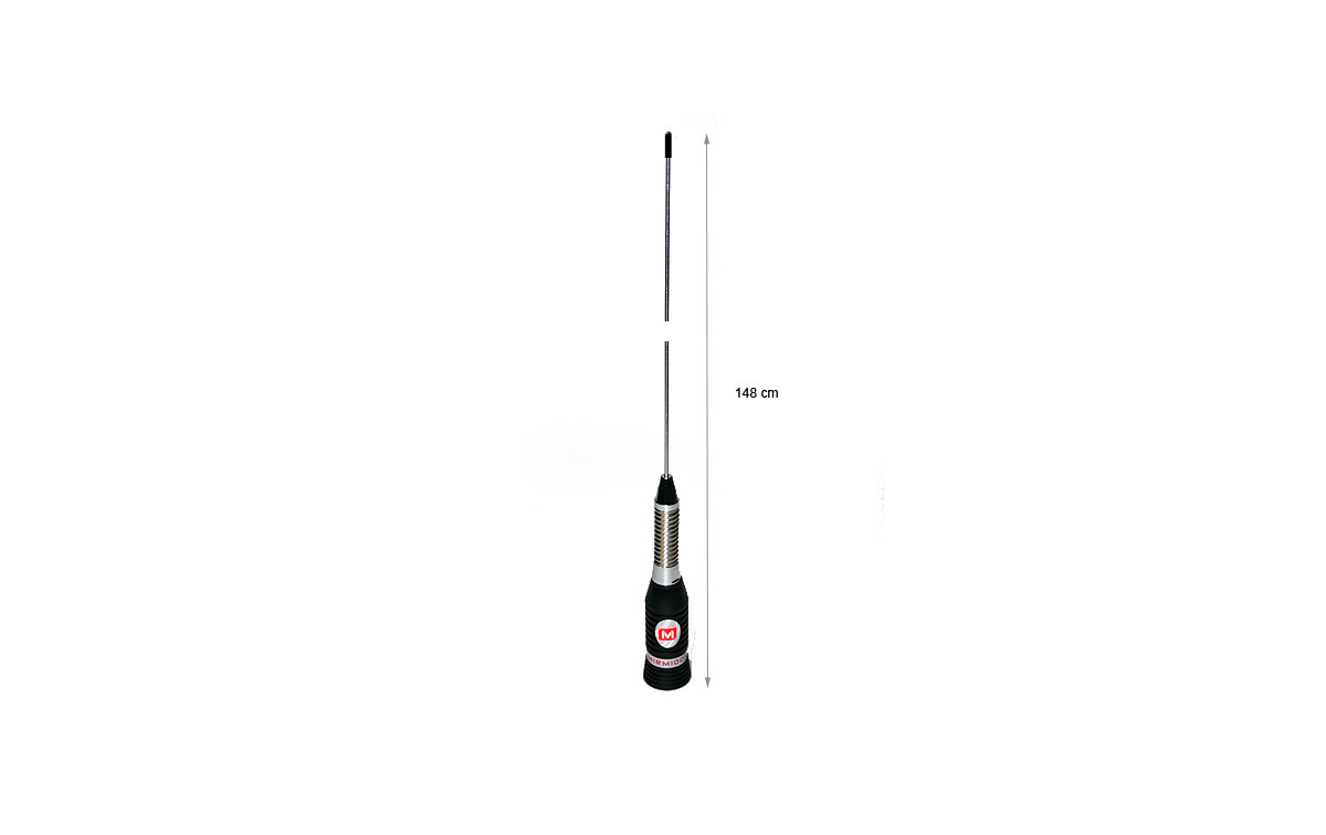 mirmidon bravo-150. cb antenna, 27 mhz, 148 cm, with spring. high performance