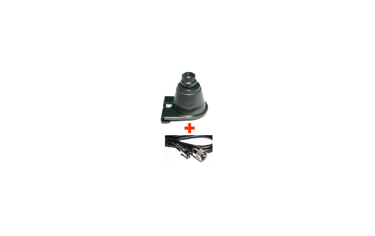 BL12. Base para maletero de rótula giratoria + CABLE LC 55