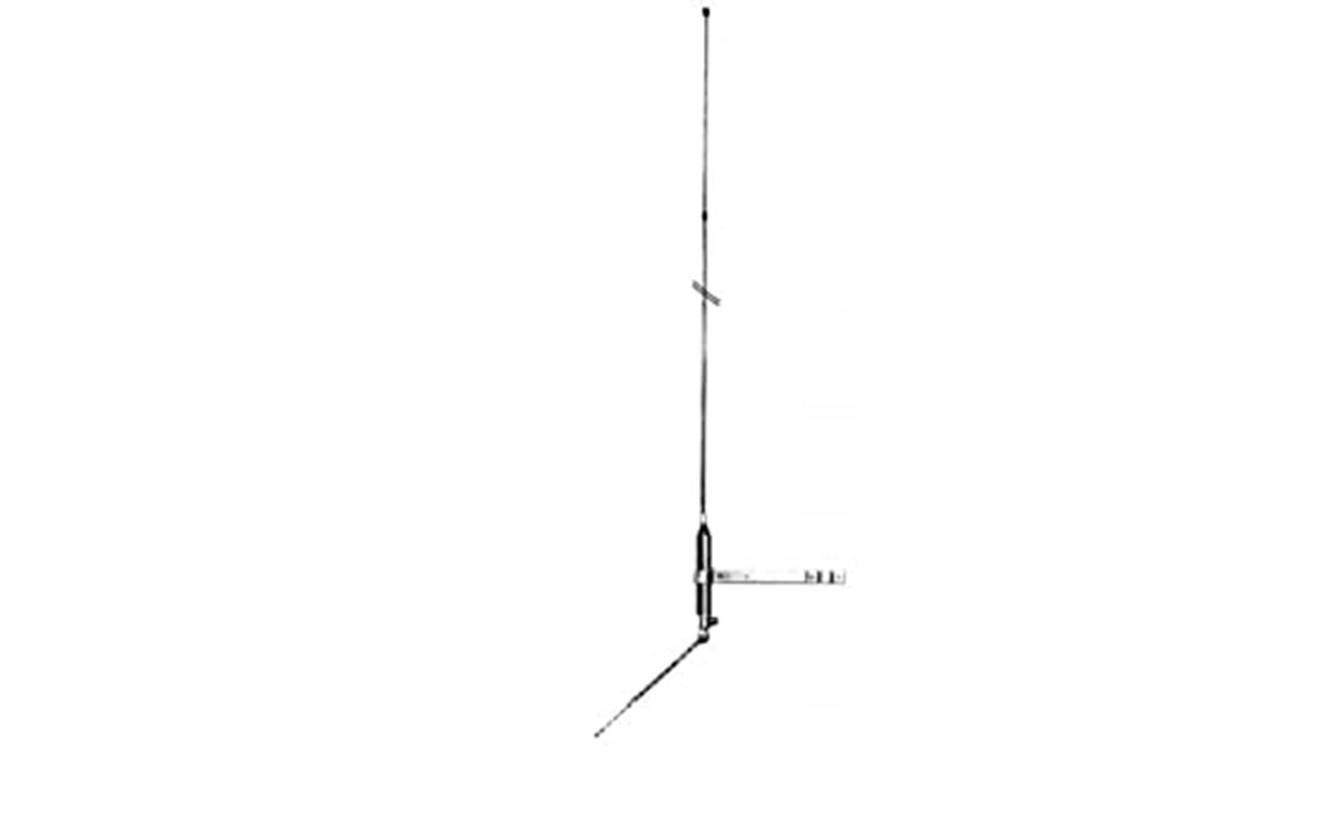 lemm mini-boomelemm antena cb balconera de fibra 1/4 onda.
