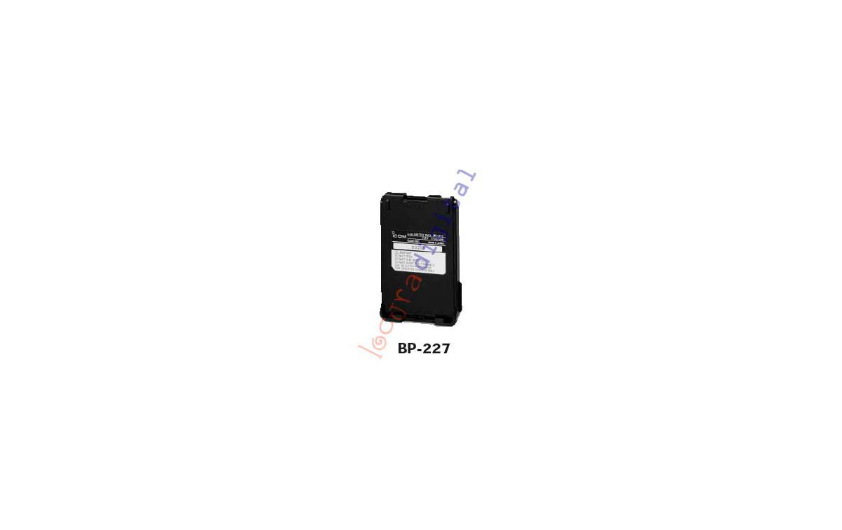 BP 227 BATERIA LITIO  ORIGINAL PARA PARA  ICOM IC V85E