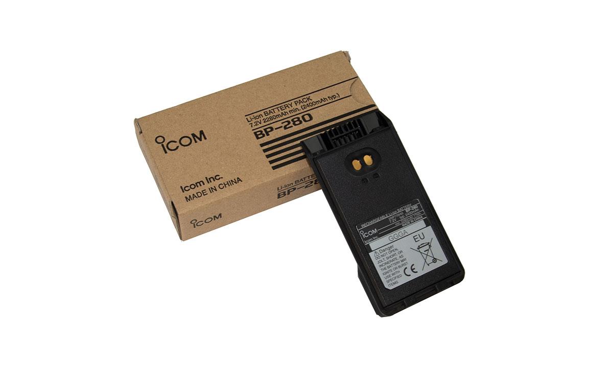ICOM BP-280 Batería LITIO 7,2 volt. 2.280 mAh.ICA-16,IC-F1000,IC-F2000
