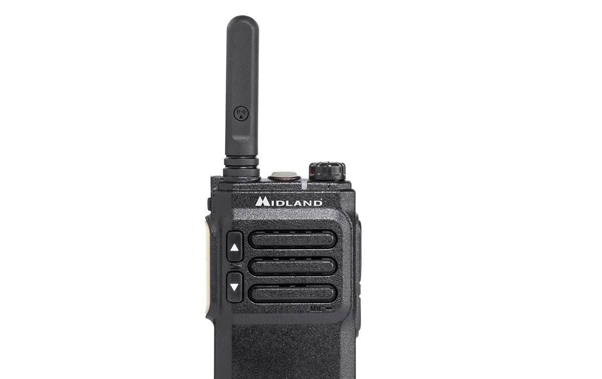 MIDLAND-BR03 Walkie PMR-446 Buisness Radio Uso Libre