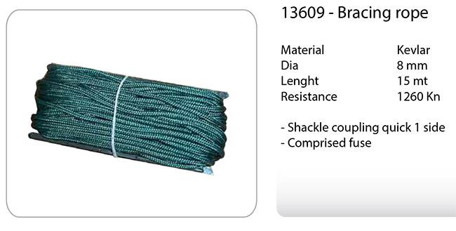 13609 Bracing rope cuerda especial para viento Kevlar