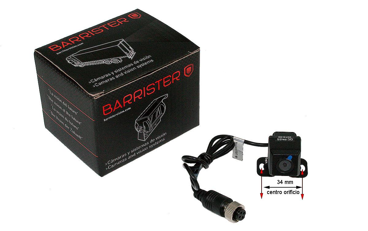 BRV180 BARRISTER cámara visión trasera miniatura CMOS 12 V