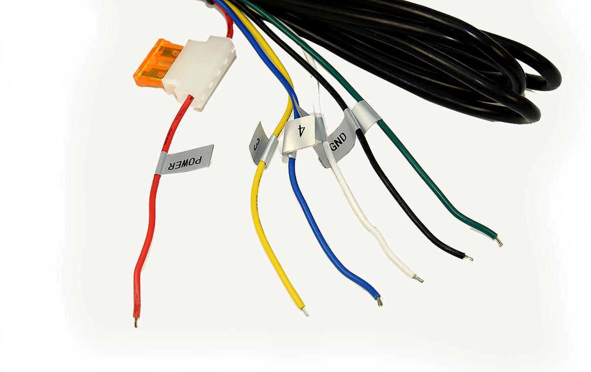 BRV-940 Cable de alimentación y conexionados de cámaras, monitor BRV900.
