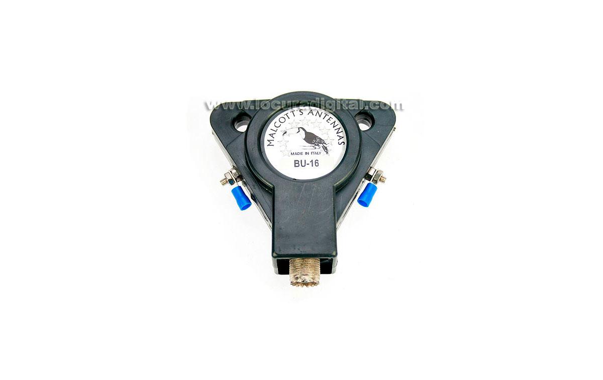 BU16 MALCOTT'S BALUM 1:6 , frec. 1-40 Mhz, 800 wats SSB, 50/75 ohms