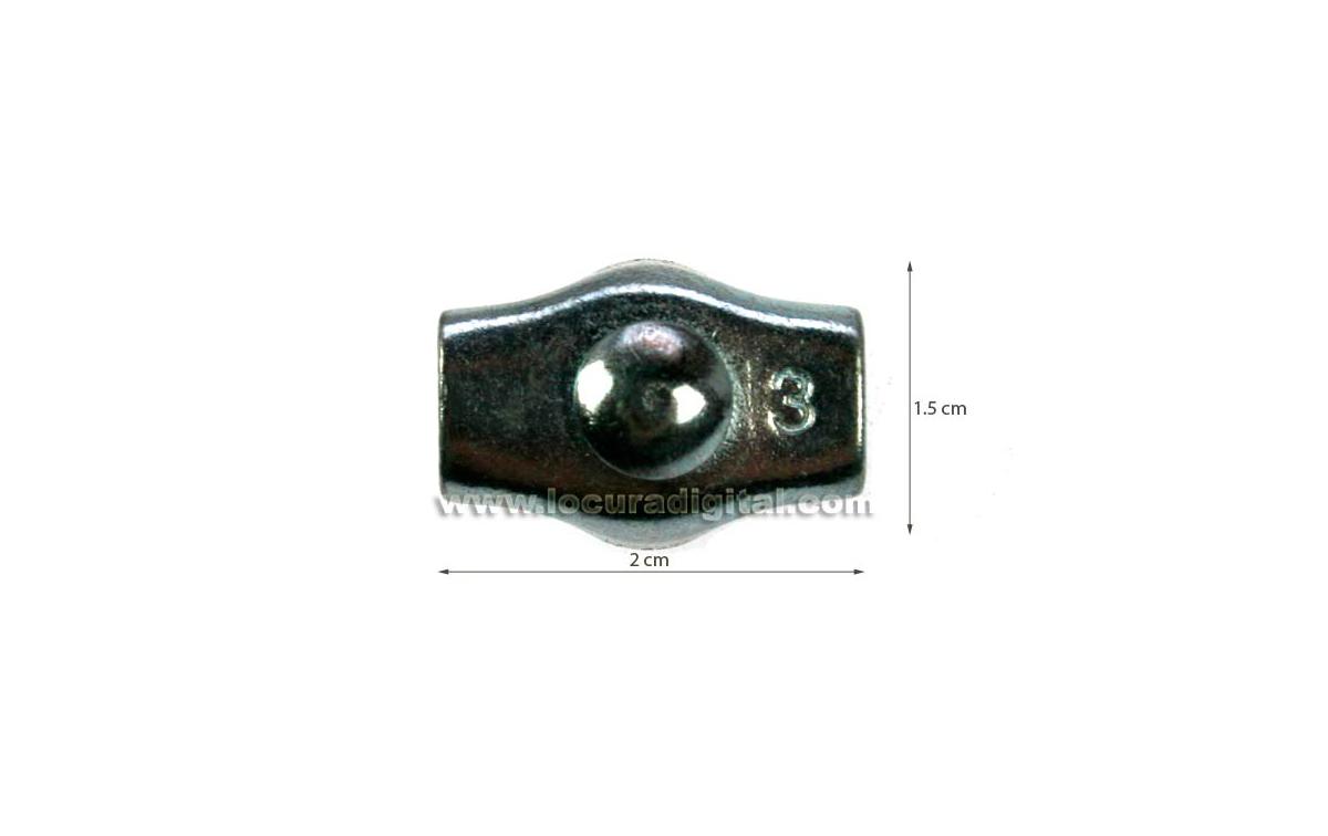 cta832 sujetacables met�lico para hilo de dipolo