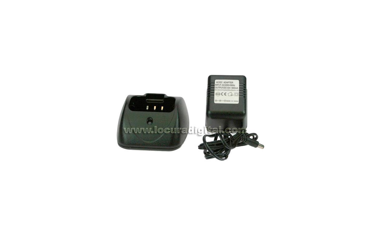 CARSMART23 KIT Cargador de Sobremesa para POLMAR SMART solo para bateria 2300 mah.