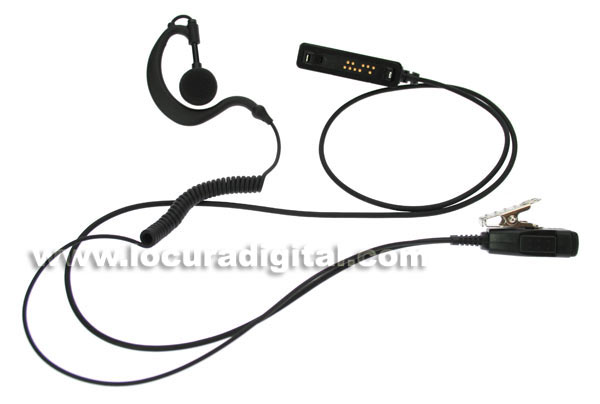 Nauze PIN29MTR micro-headset for walkie