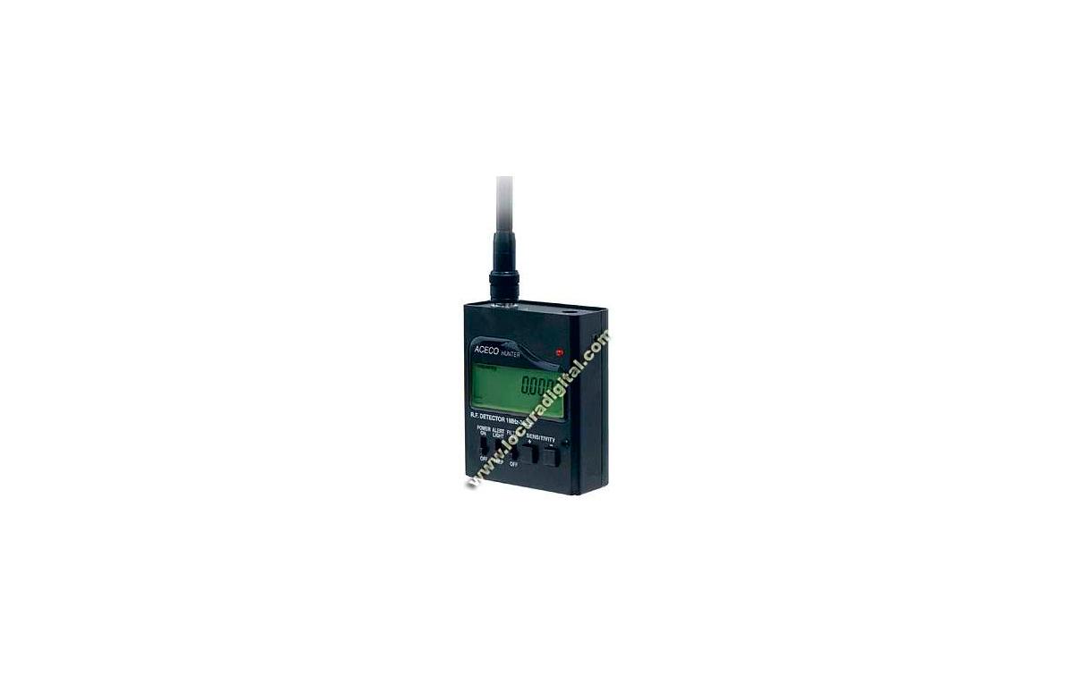ACECO HUNTER Frecuencimetro digital de 1 Mhz a 3 Ghz