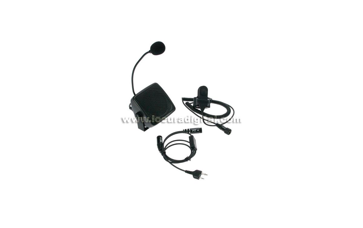 NAUZER ATC5505S Kit manos libres para walkies. Especial Autoescuelas - Conexión Alan/Midland