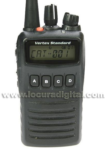 YAESU VERTEX VX 454-CAZA
