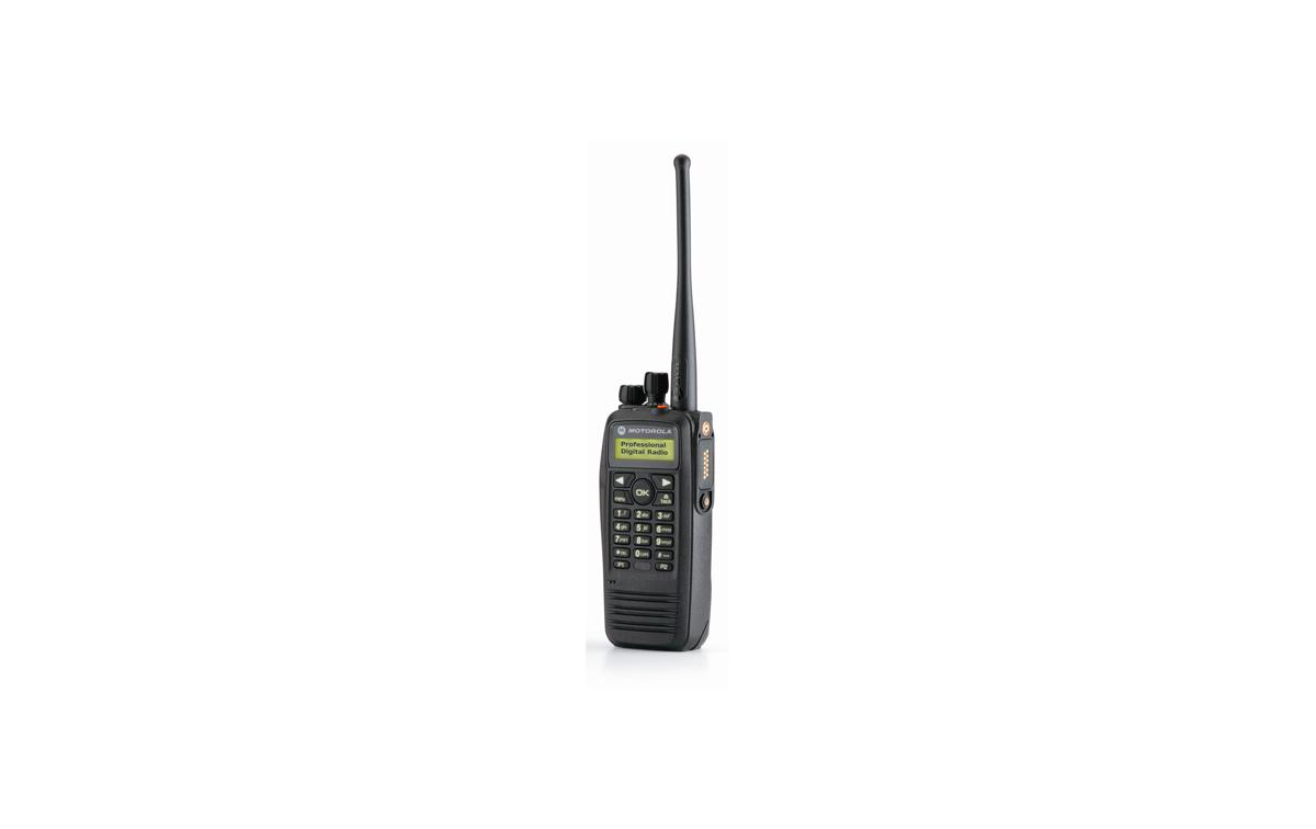 MOTOROLA DP-3601 VHF Walkie talkie Digital con teclado y módulo GPS integrado