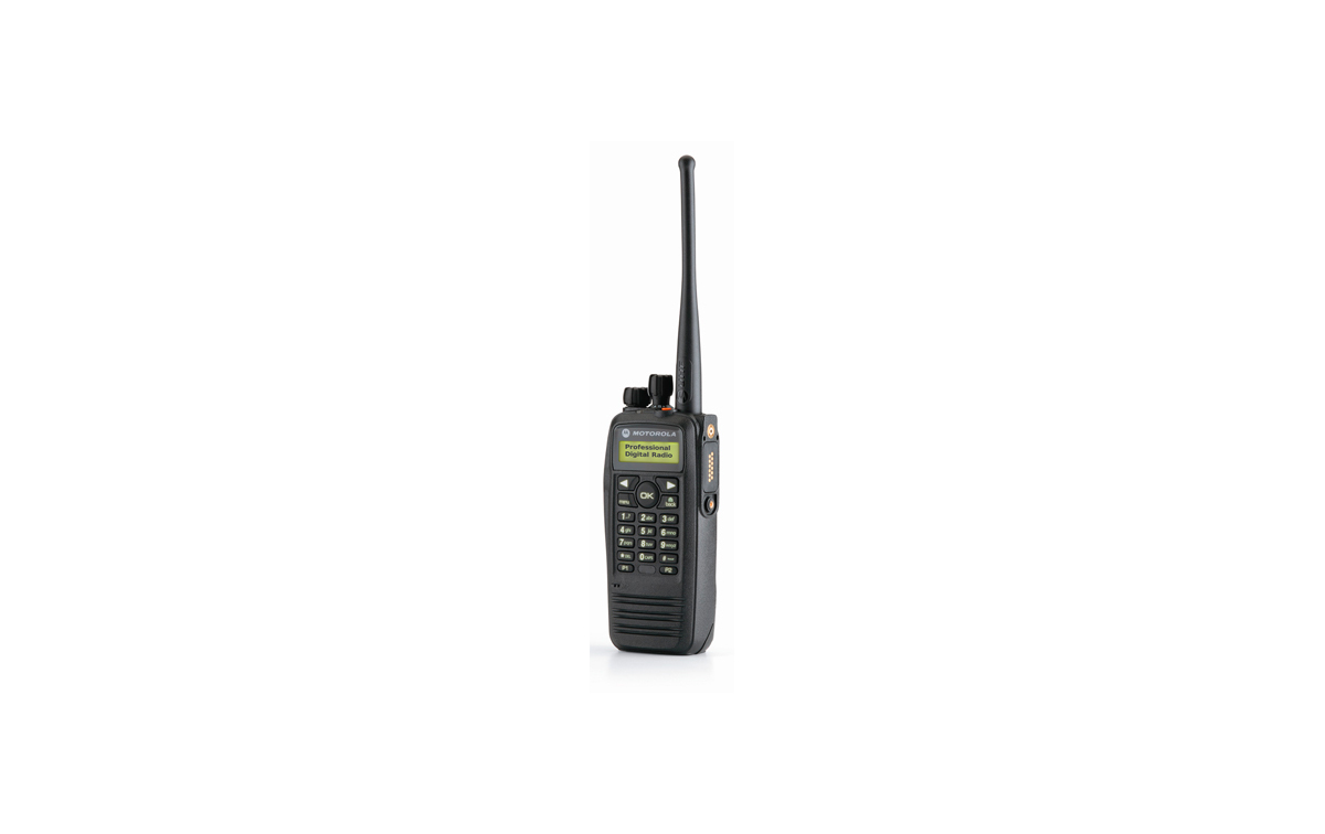 MOTOROLA DP-3600 UHF Walkie talkie Digital con teclado