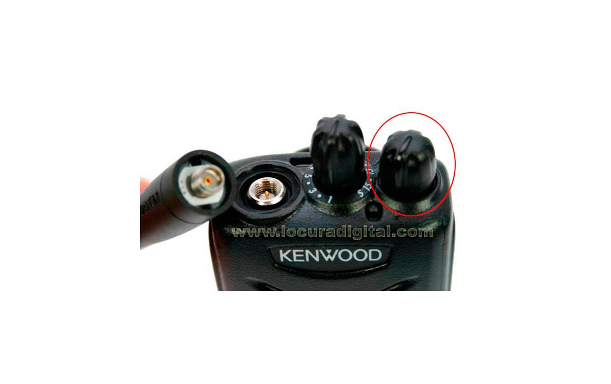 K29948705 KENWOOD recambio original botón volumen para TK-2000 y TK-3000