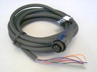 O CT-M11 ?m cabo para conex?de dispositivos ?s ?omada de 7 pinos do Yaesu FTM-10 e transceptores VX-8R/VX-8D.