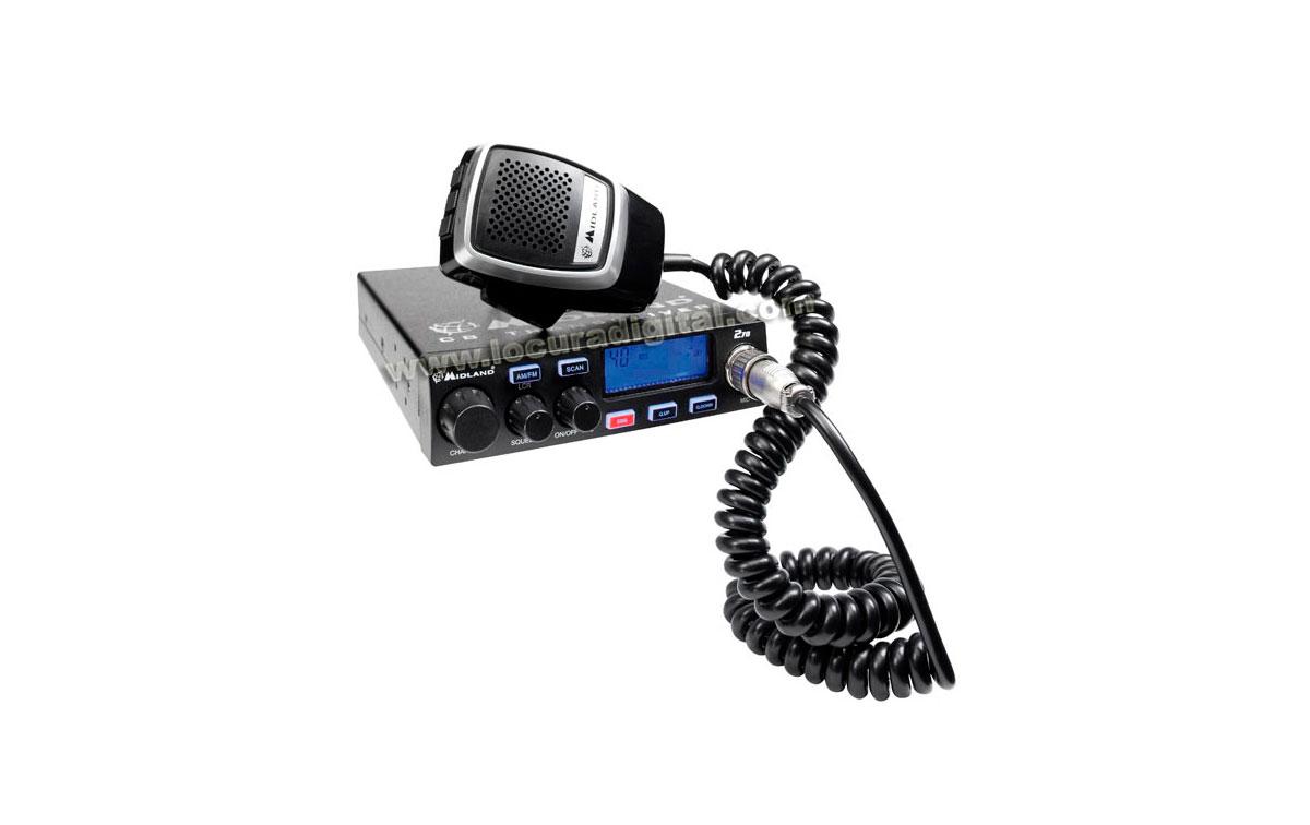 MIDLAND 278 Emisora CB 27 Mhz. 40 Canales AM/FM 4W