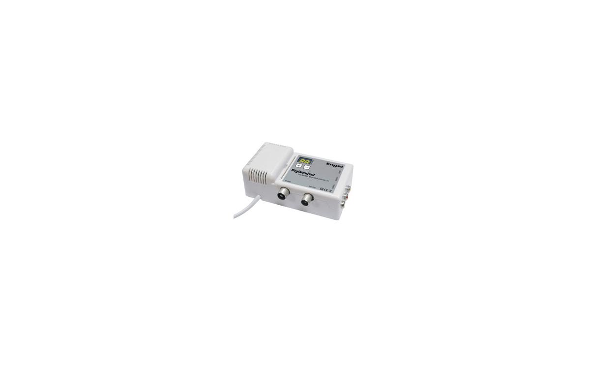 MV7126 Digi Sender-2 para distribuir la señal DIGITAL - TV y todos los equipos audiovisuales en casa