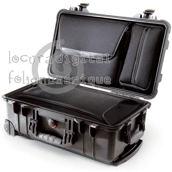 Black Case 1510-006-110 LOC Overnigtht Laptop Case