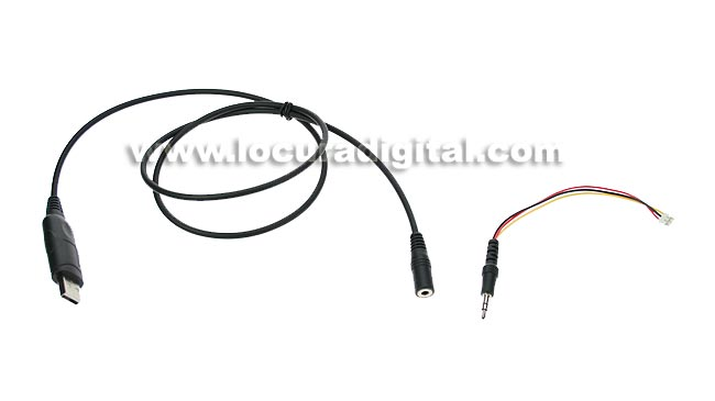 CADX5000USB MAAS cable de programación USB para emisora DX-5000