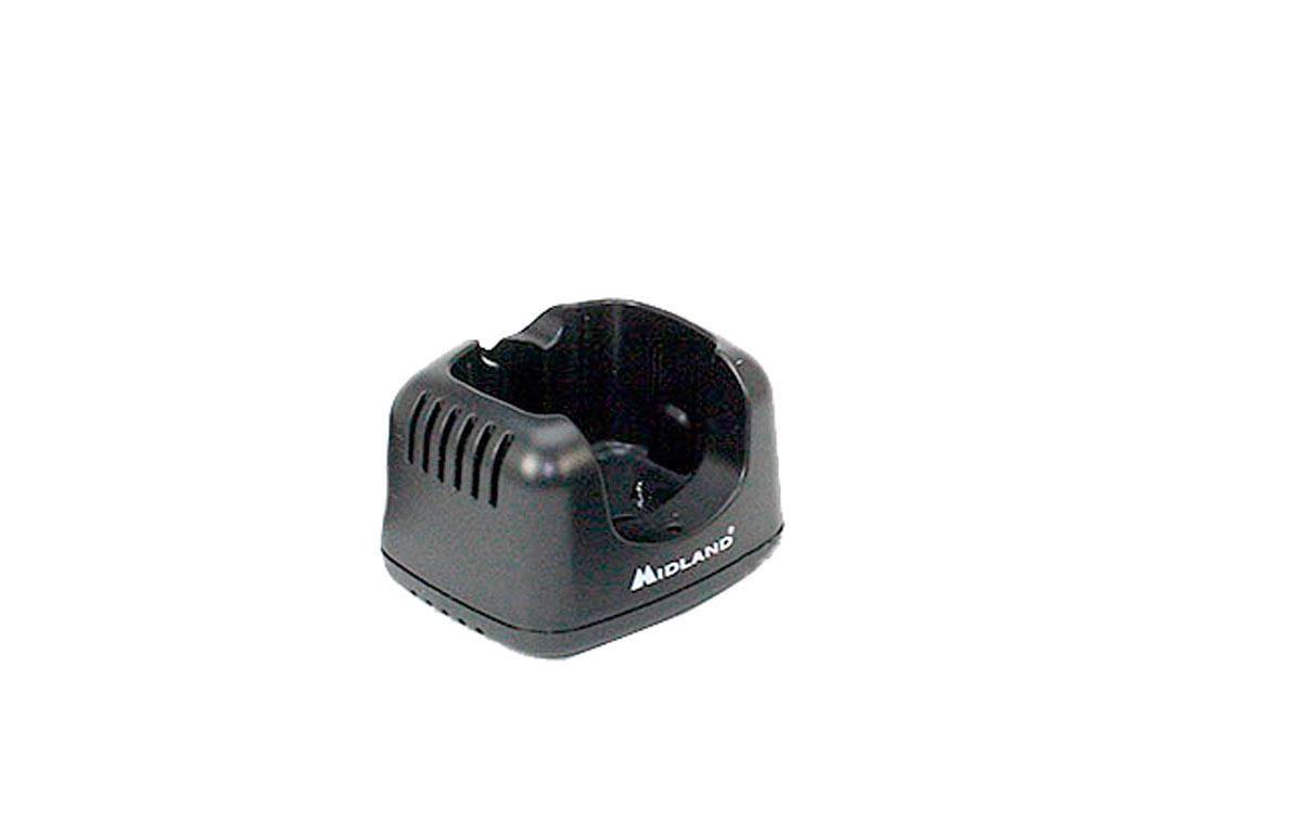 ca-g9pro cazuela para cargar walkies midland g9-pro, entrada 12 voltios 500 ma