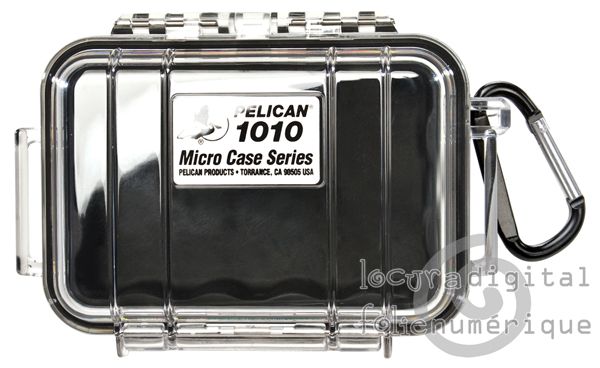 1010-025-100 Micro-Clear Protective Case - Black