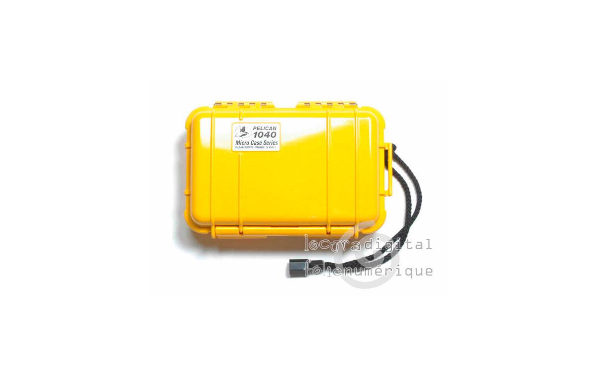 1040-025-240E Micro-Maleta de protección Amarillo