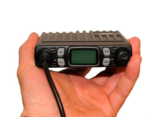 cb3208 team emisora mini cb 27 mhz. transceptor 'mobile minicom' ultra-compacto para cb. am/fm. 4 w.