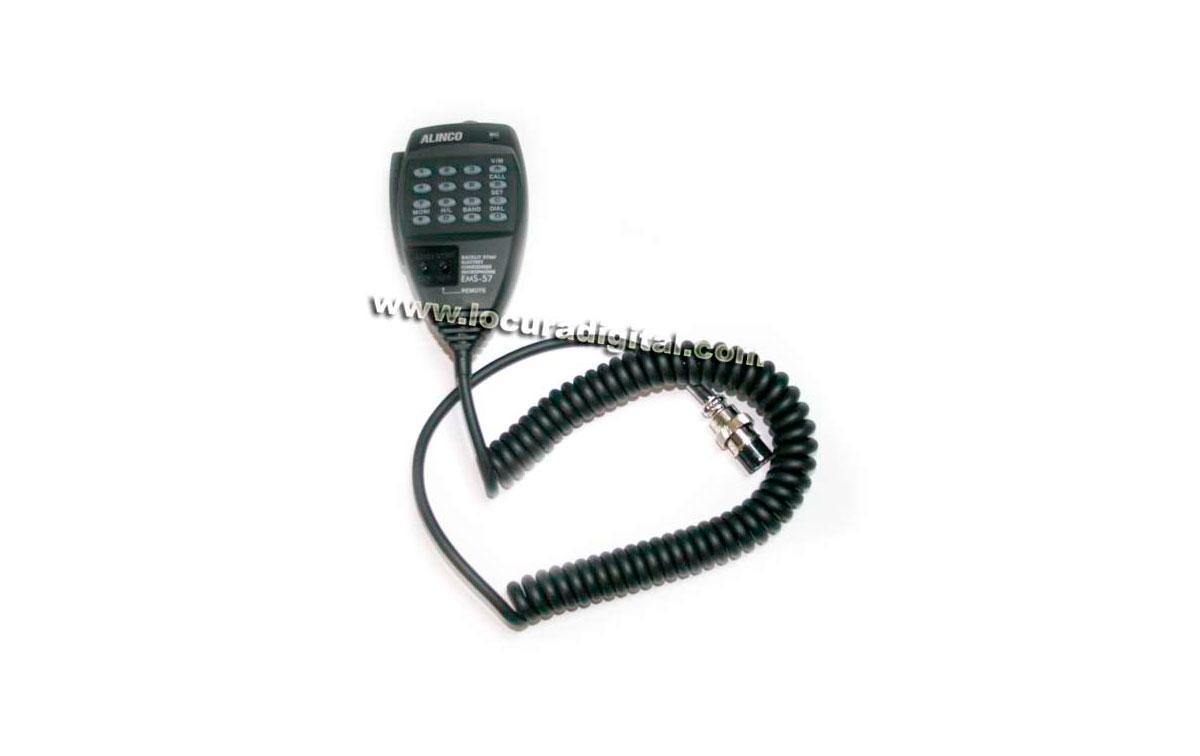 ALINCO EMS-57 Micrófono DTMF