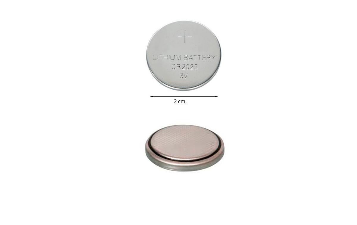 Cr2025bulk pila de litio tipo bot n - Tipos de pilas de boton ...