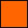 Protective Case 1300-000-150 Orange with foam