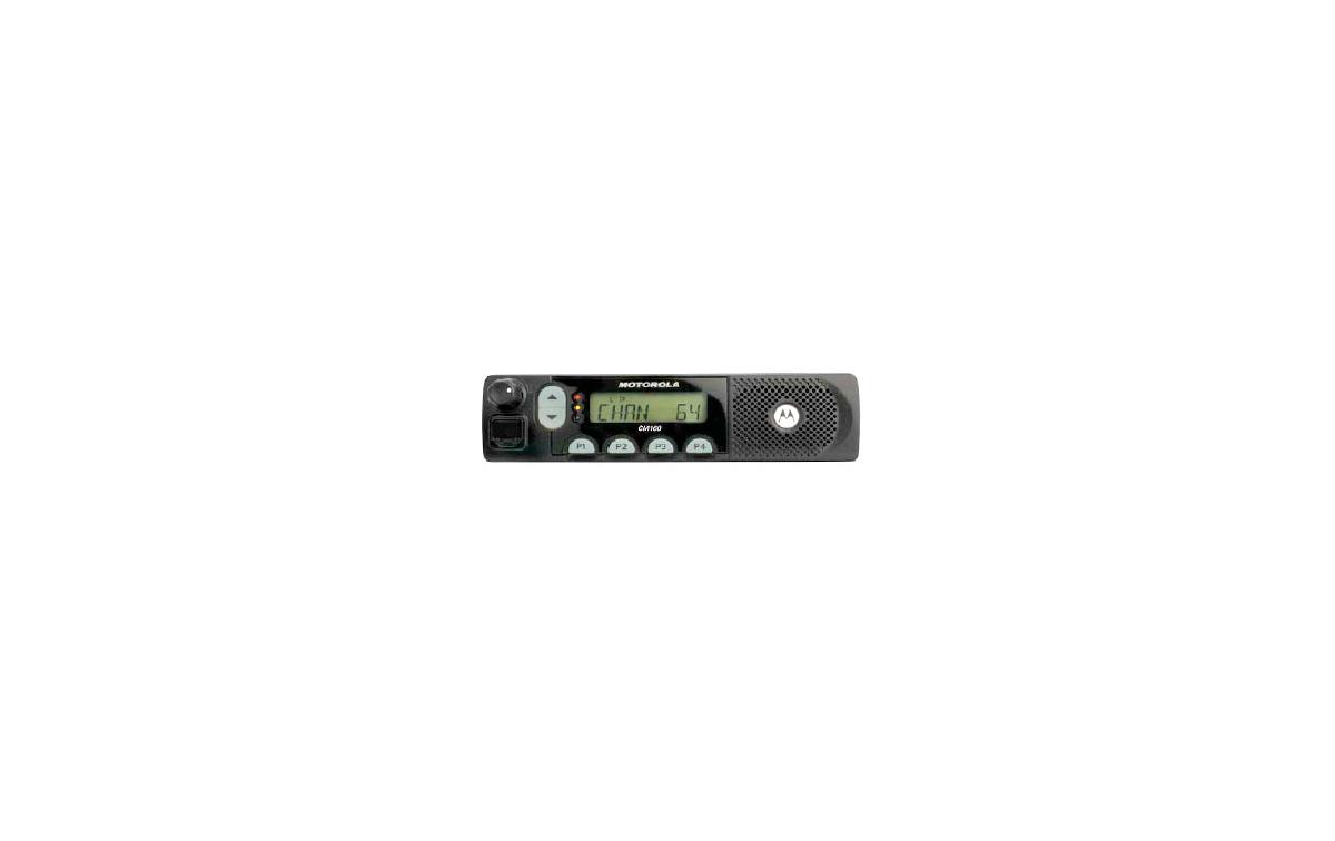 MOTOROLA CM160 EMISORA MOVIL PROFESIONAL UHF 438-470 MHz