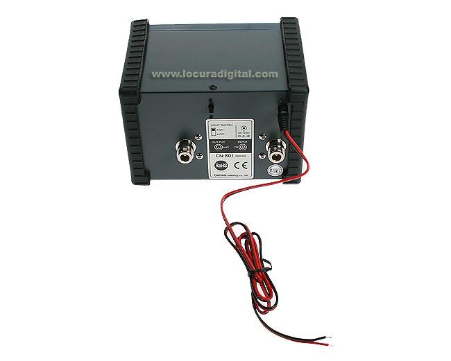 CN801GF DAIWA medidor de ROE y POTENCIA de 900 a 1300 Mhz.