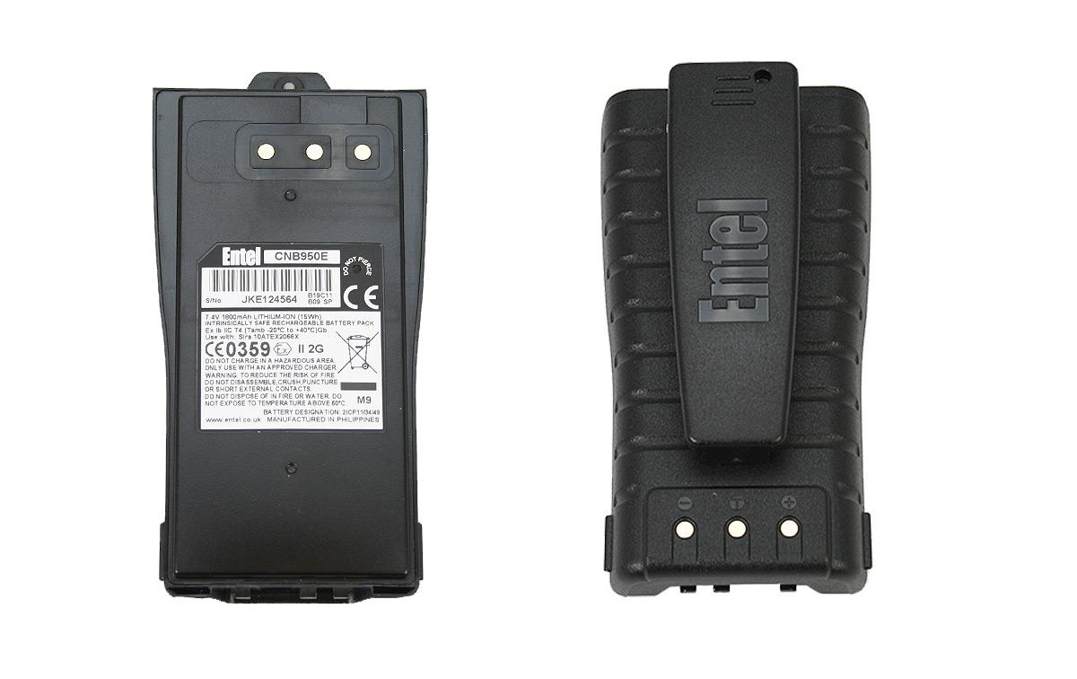 CNB950E - Bateria Li-Ion ATEX para portátiles ENTEL serie HT