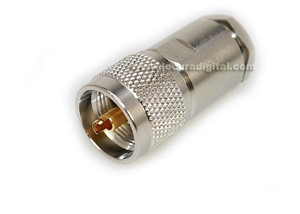 con02076144 marcu conector alta calidad pl macho para solda y cables diametros 10,3 mm vivo 3 mm