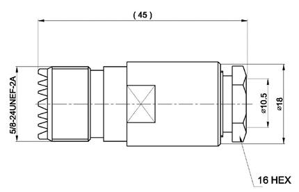 con02076184 marcu conector pl hembra soldar.para cable rf-400uf y rf-400lrp