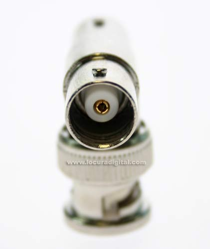 CON1214 triplo BNC Adapter, um macho para duas f?as