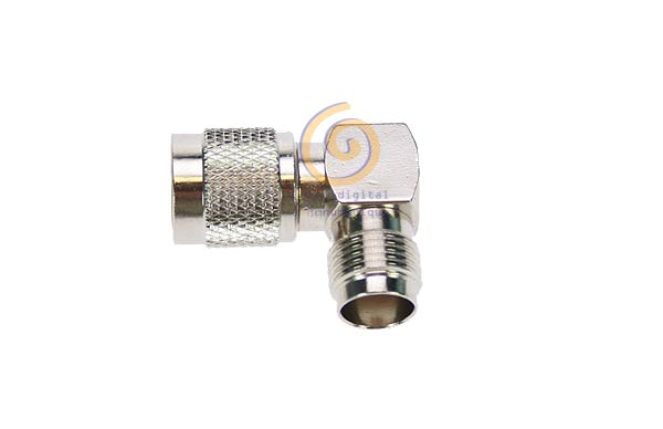 CON1257 Adapter TNC male - TNC female elbow