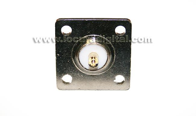 CON1435 Connecteur N femelle chassis, 4 vis de fixation