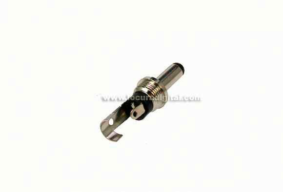 CON2198 Conector Jack alimentación long. 9 mm. x diam.2,35 mm.x 0,70 interior