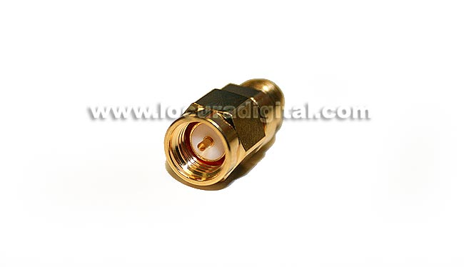 CON3798 Adapter SMA MALE to SMA FEMALE REVERSE standard