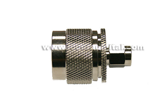 REVERSE SMA adapter CON3799 MALE to N MALE standard