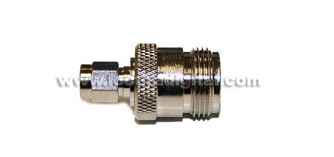 CON3906 Adapter SMA to N FEMALE MALE REVERSE standard