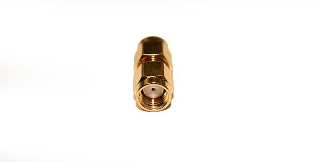 CON3913 Adapter SMA MALE SMA MALE REVERSE REVERSE