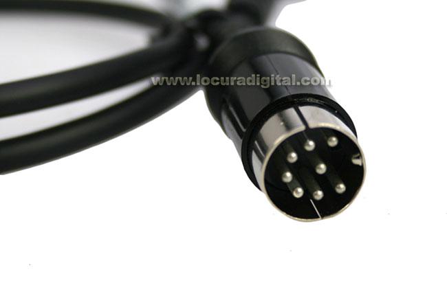 Yaesu original CT-106 Cable de programación para VX-160/ 180/ 210/ 400/ 410/ 420/ 450