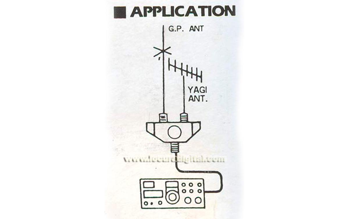 cx201n conmutador n para 2 antenas de alta calidad