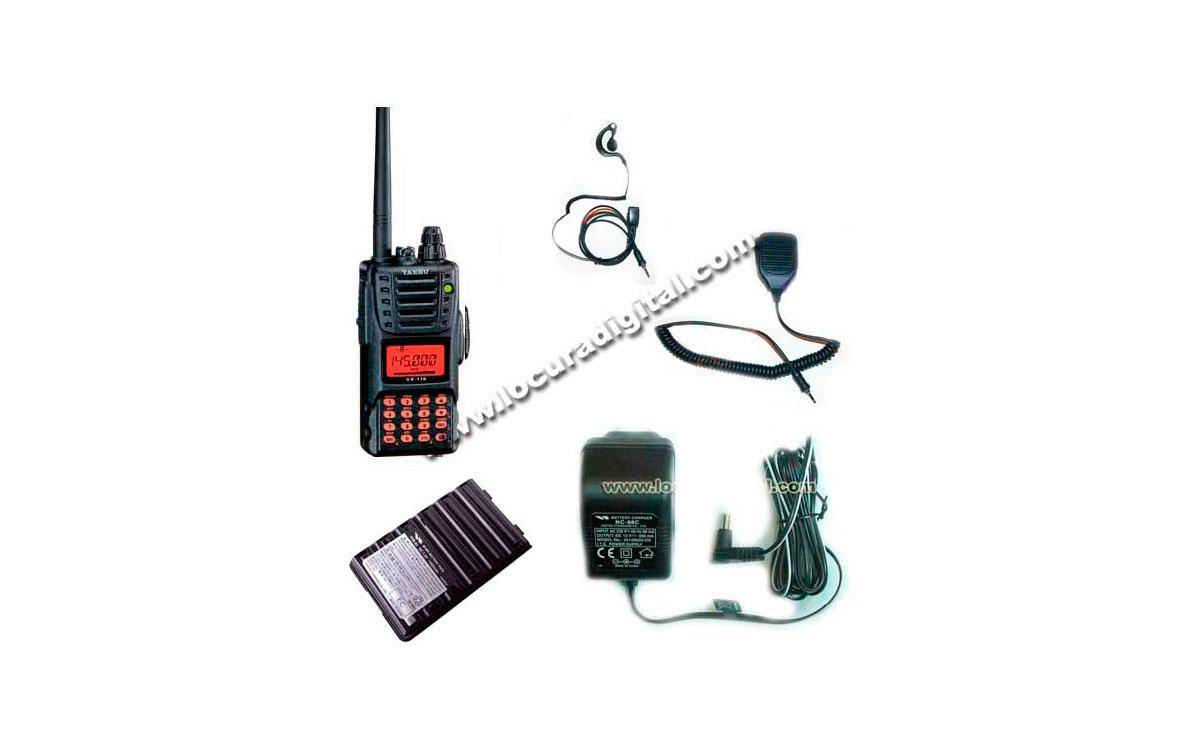 VX170 KIT A. YAESU. Walkie VHF Sumergible - -------  A T E N C I O N:  WALKIE DESCATALOGADO POR YAES