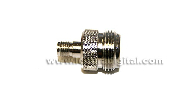 CON3907 Adapter SMA to N FEMALE FEMALE REVERSE standard