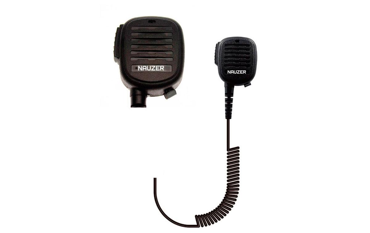 NAUZER MIA120K1 Micro altavoz ALTA GAMA PROFESIONAL para walkies KENWOOD.